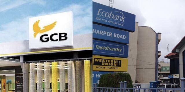 GCB Bank and Ecobank Ghana control 23.9% of banking industry deposits - Report