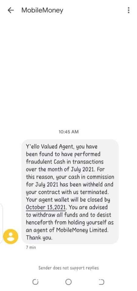 MTN To Terminate Agreement with 20,000+ Mobile Money Agents Over Fraudulent Acts